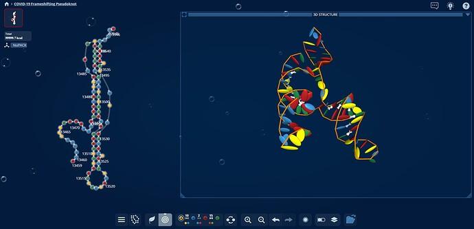 Pseudoknot 3D