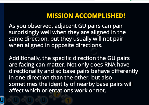 8 - GU pairs